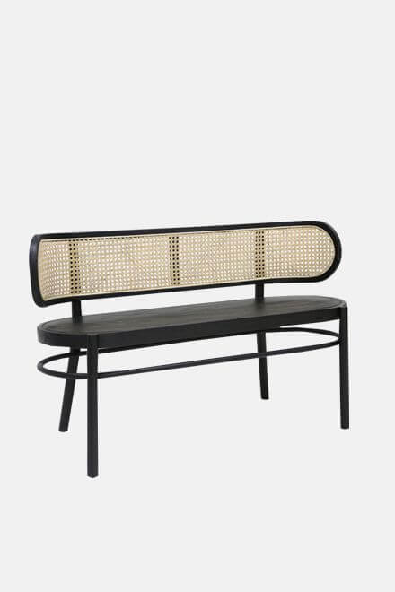 Скамья Retro Webbing Bench | HKLiving