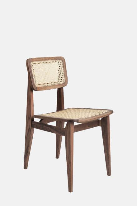 Стул C-Chair Dining Chair - Un-Upholstered | GUBI