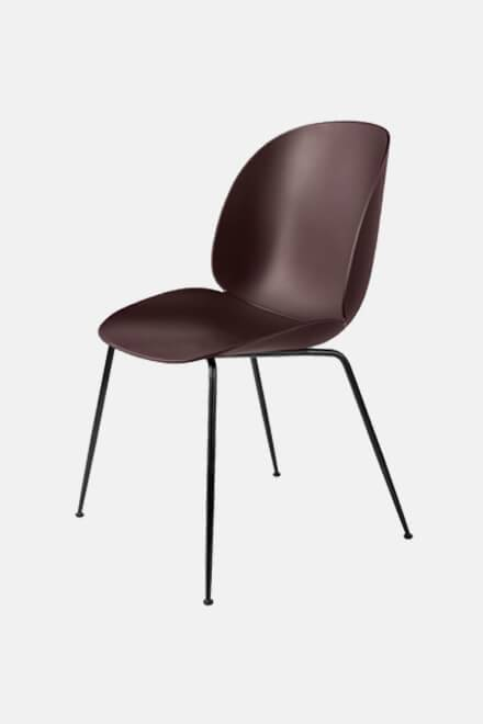 Стул Beetle Dining Chair Bordo | GUBI