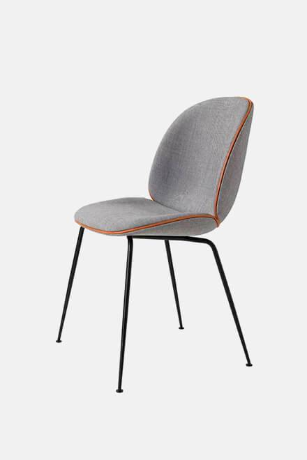 Стул Beetle Dining Chair Grey | GUBI